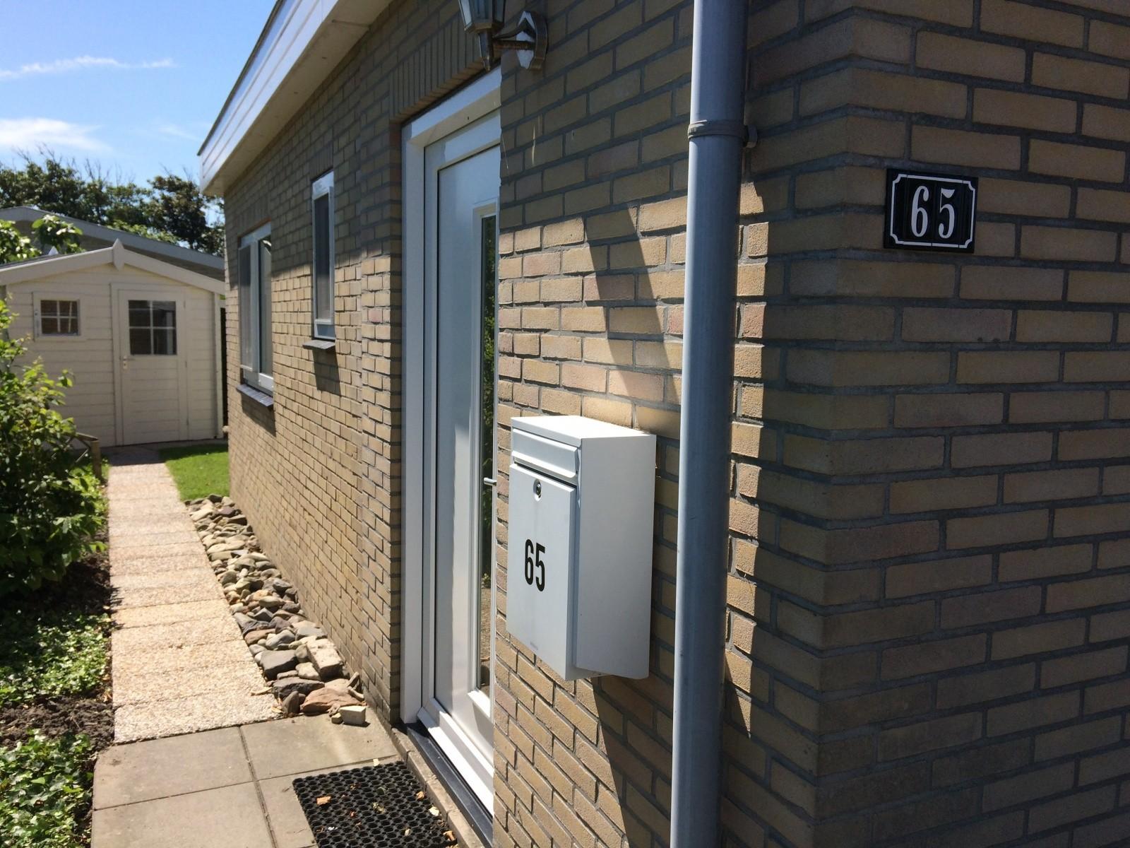 De voordeur | Vakantiebungalow Joossesweg 65, Westkapelle