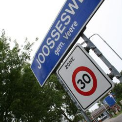 joossesweg straatnaambord
